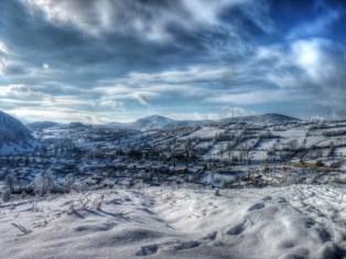 anina iarna romania hdr 6