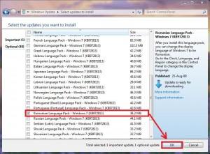 Windows 7 schimbare în limba Româna (2/4)
