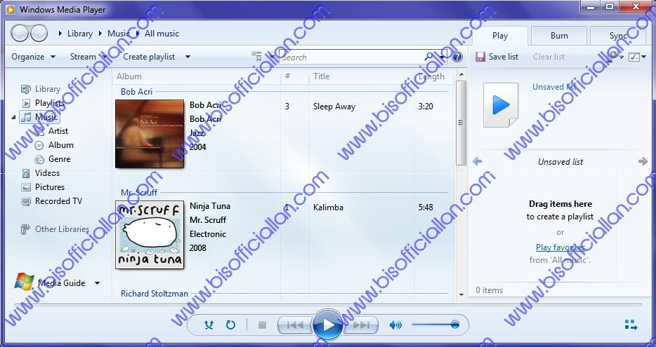 Cum se copiază un cd cu muzică, .mp3 sau track în windows media player. (3/6)