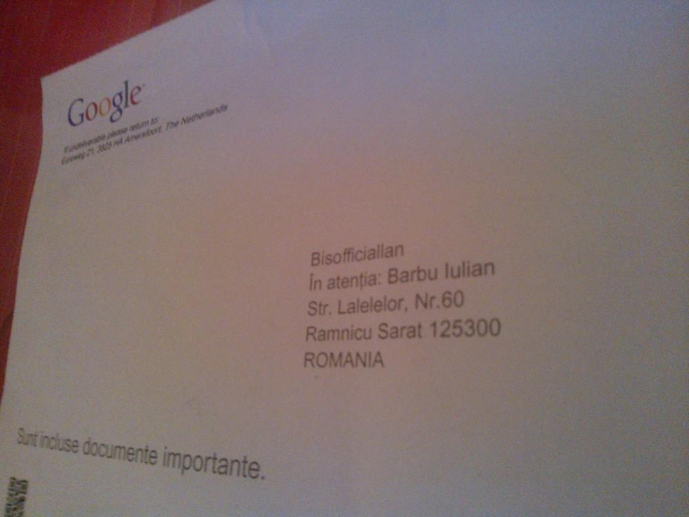 A new publication: Bisofficiallan partner Google (2/6)