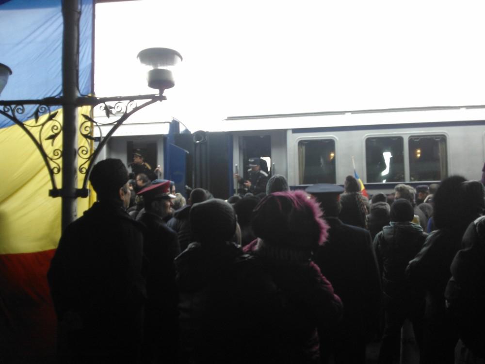 Trenul regal in Mun. Ramnicu Sarat (3/6)